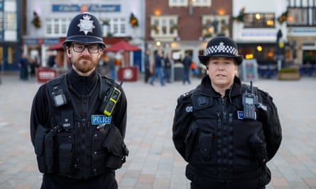 PC Alex Collins and Sgt Tracey Holloway