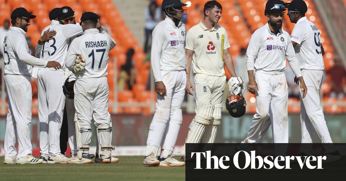 Englands young guns learning on the job speaks to a systematic failing | Andy Bull