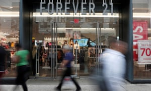 A Forever 21 store in New York City