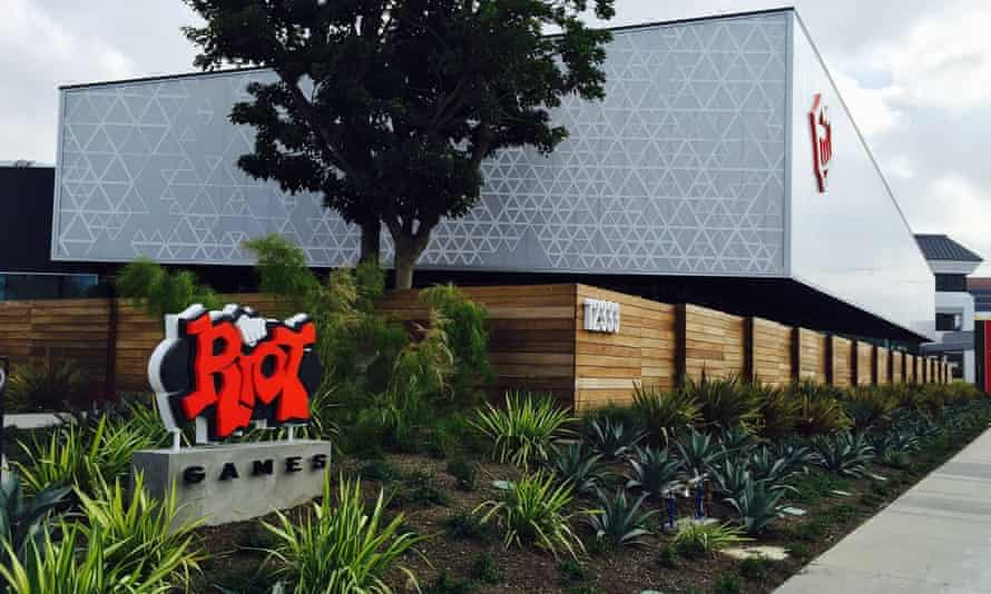 Riot Games HQ in Los Angeles