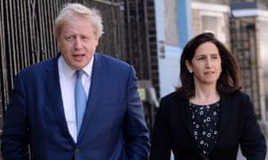 Boris Johnson and Marina Wheeler