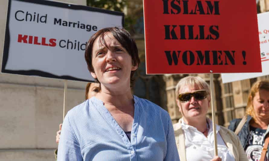 "Anne Marie Waters was banned by Ukip from fighting an election after describing Islam as ""evil""."