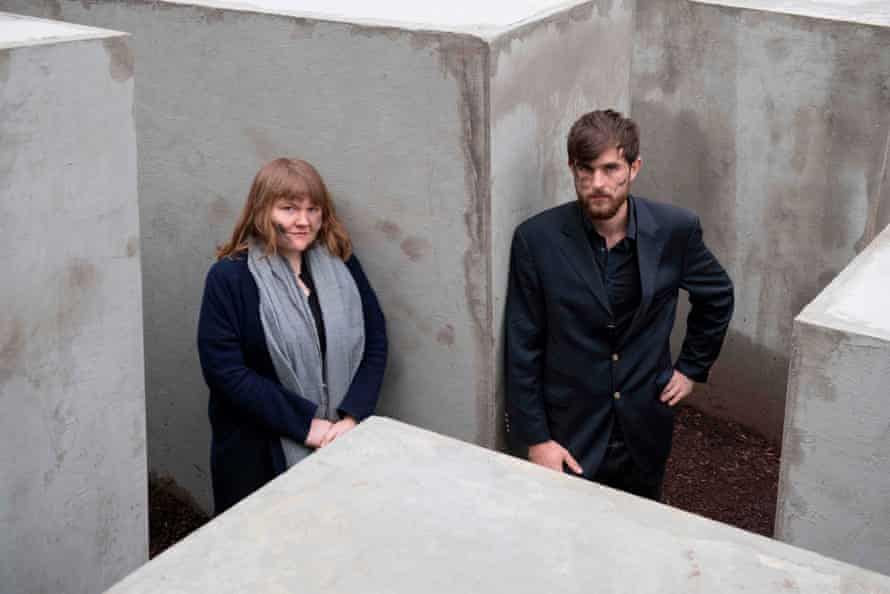 Morius Enden and Jenni Moli of the the art collective Centre for Political Beauty