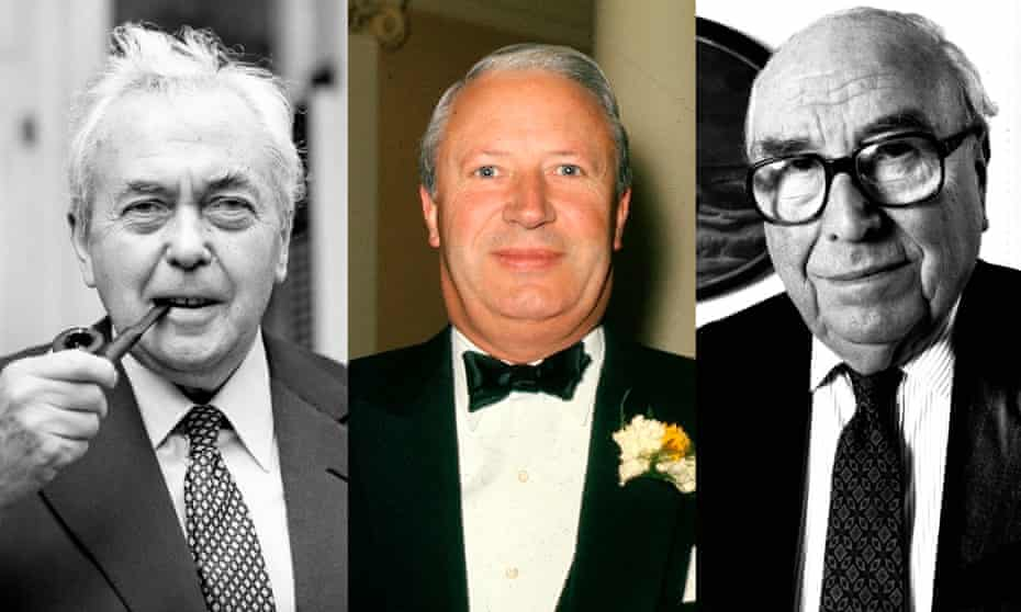 Harold Wilson, Edward Heath and Roy Jenkins