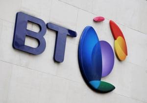 The BT logo.