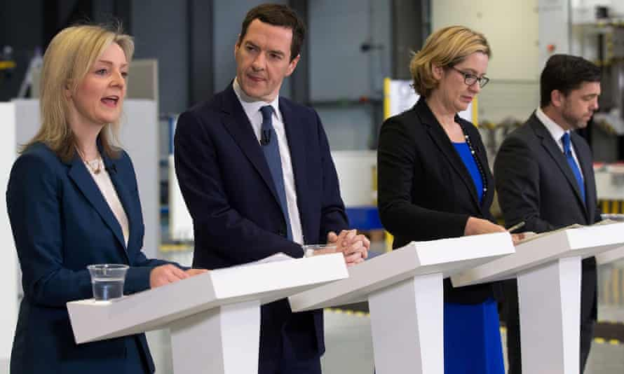 Liz Truss, George Osborne, Amber Rudd and Stephen Crabb