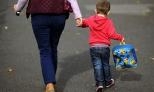 Childcare studyEmbargoed to 0001 Monday July 10 File photo dated 13/10/15 of a child with a carer. One in four mothers would have to give up work if they didn't have grandparents to look after their children, a new study reveals. PRESS ASSOCIATION Photo. Issue date: Monday July 10, 2017. See PA story INDUSTRY Grandparents. Photo credit should read: Niall Carson/PA Wire