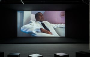 Kahlil Joseph: Shadow Play, installed at the New Museum