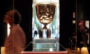 The Warren Cup, a Roman silver drinking vessel.