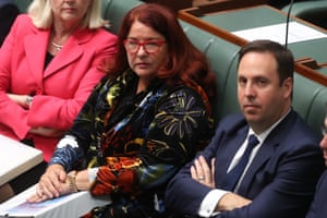 Environment minister Melissa Price during question time