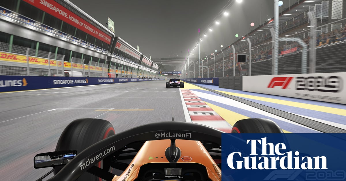 F1 drivers prepare for face-off in virtual races following postponements | Sport | The Guardian thumbnail