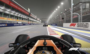 The Singapore track in F1 2019.
