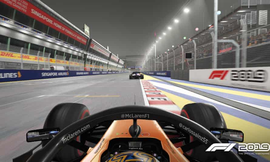 Drivers will play remotely with car setups levelled off to enable competitive virtual racing.