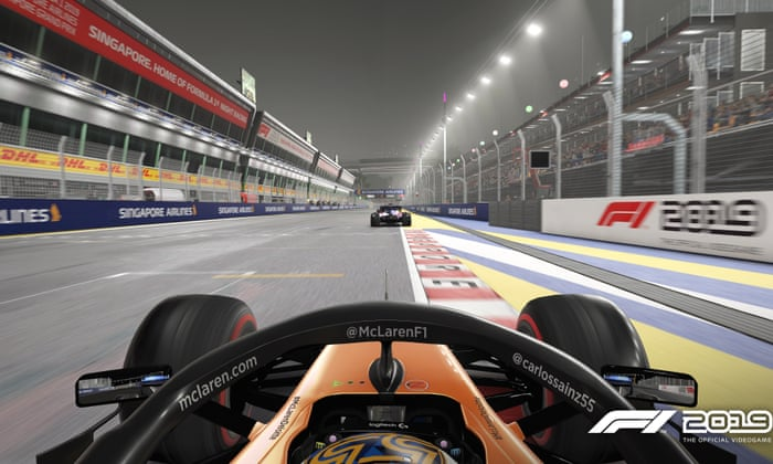 F1 Drivers Prepare For Face Off In Virtual Races Following Postponements Sport The Guardian