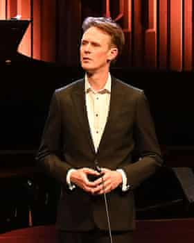 Ian Bostridge performing last year.