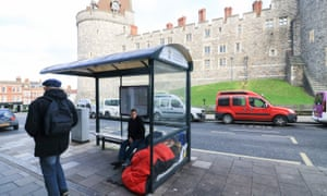 Homeless people live alongside film stars and royalty in the Royal Borough of Windsor and Maidenhead.