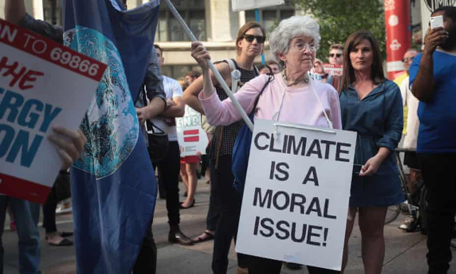 'We've all but stopped paying attention to climate change, the single greatest crisis the planet has ever faced.'