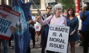 """Climate change is now more politically polarizing than any other issue in America,"" said Anthony Leiserowitz, director of the Yale program on climate change communication."