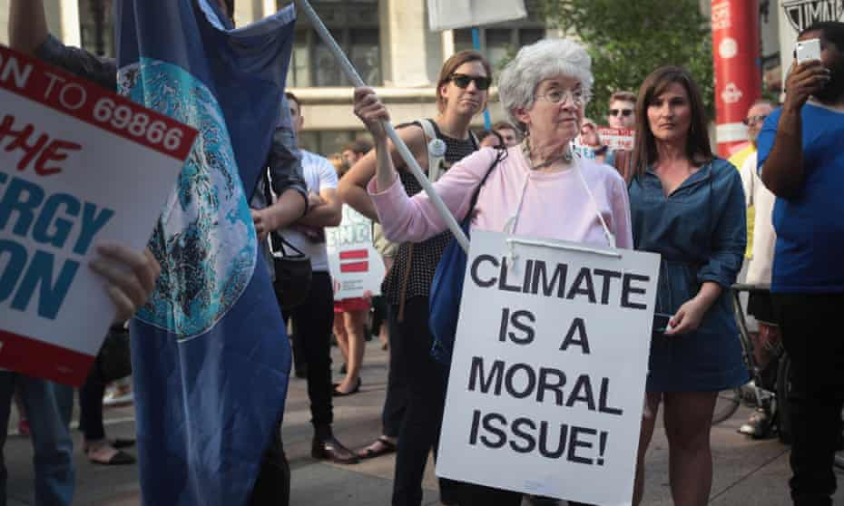 """""""Climate change is now more politically polarizing than any other issue in America,"""" said Anthony Leiserowitz, director of the Yale program on climate change communication."""