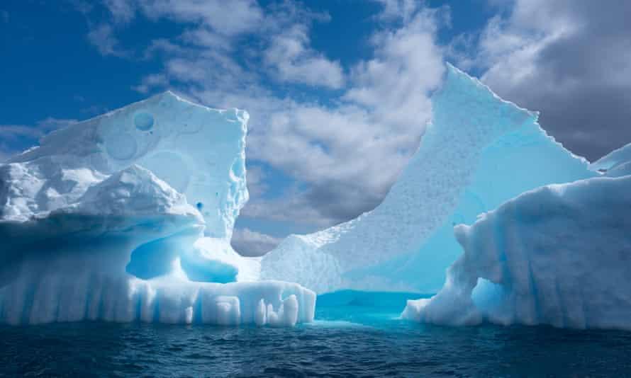 Paradise Harbour In Antarctica.