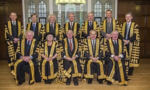 The UK's supreme court judges
