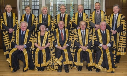 Judges of the supreme court
