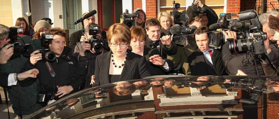Jacqui Smith during the expenses scandal in 2009