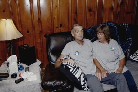 Doug and Johnnie Bledsoe at their home in Powell.