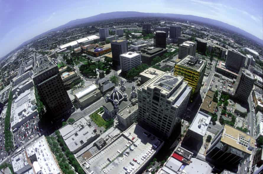 The city of San Jose grew outward, to become the most populous in the Bay Area.