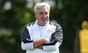 Steve Bruce says: 'To be in charge of this great club is one of the great highlights of my 40-year career. I'm very fortunate.'