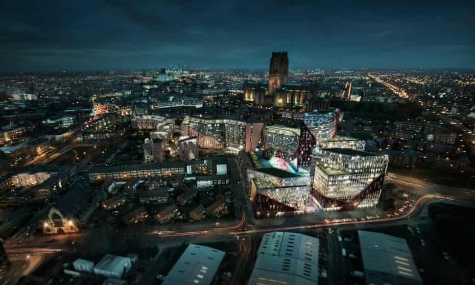 North Point Global's planned New Chinatown development, Liverpool.