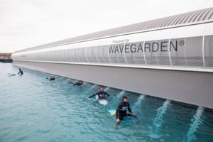 The technology is provided by Basque firm Wave garden