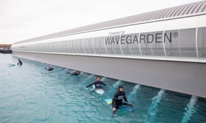 The Wave – a new, man-made surfing venue near Bristol