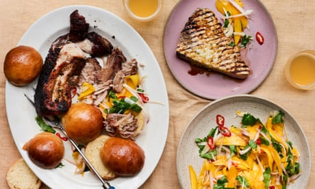 Jerk pork, grilled fish and mango chow: Caribbean barbecue recipes