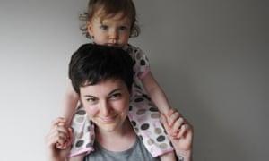 Eleanor Margolis and her niece
