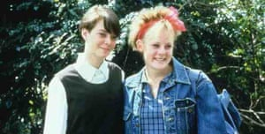 Louise (Emma Coles) and Kelly (Kris Bidenko) in Two Friends
