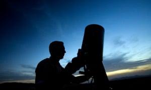 An amateur astronomer