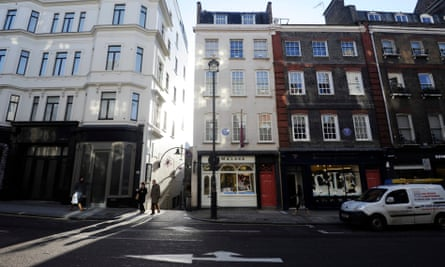 23 and 25 Brook Street, central London