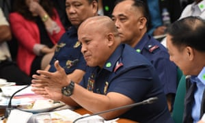 The Philippines national police director general, Roland Dela Rosa.