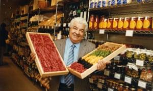 Antonio Carluccio in his Neal Street Restaurant in London in 1993.