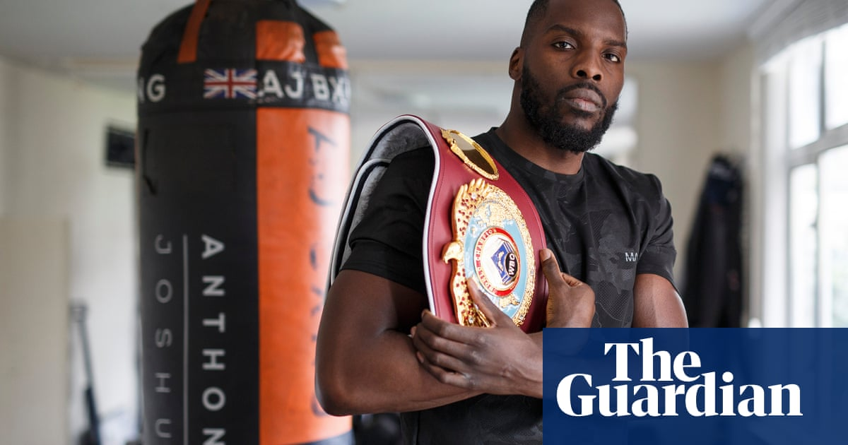 Lawrence Okolie: 'Joshua's gold in 2012 spoke to me. It changed my life' | Donald McRae