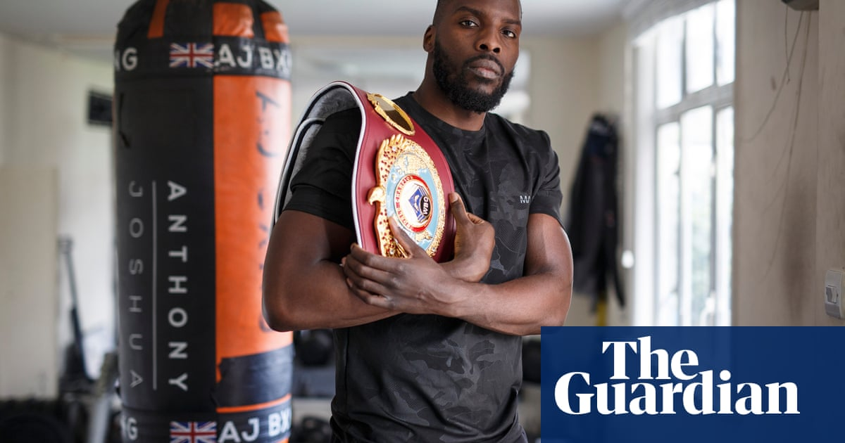 Lawrence Okolie: 'Joshua's gold in 2012 spoke to me. It changed my life'