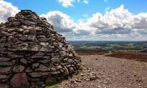 The view from a bronze age cairn on Dunkery Beacon.