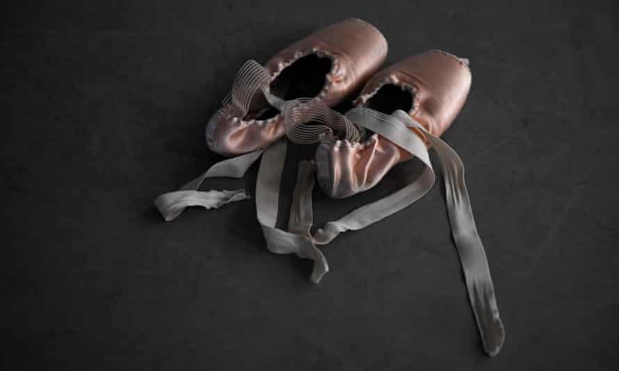 … ballet shoes.