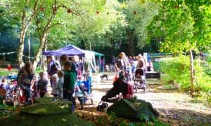 A community garden in Birmingham