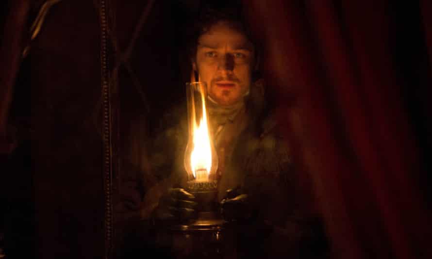 James McAvoy in Victor Frankenstein.
