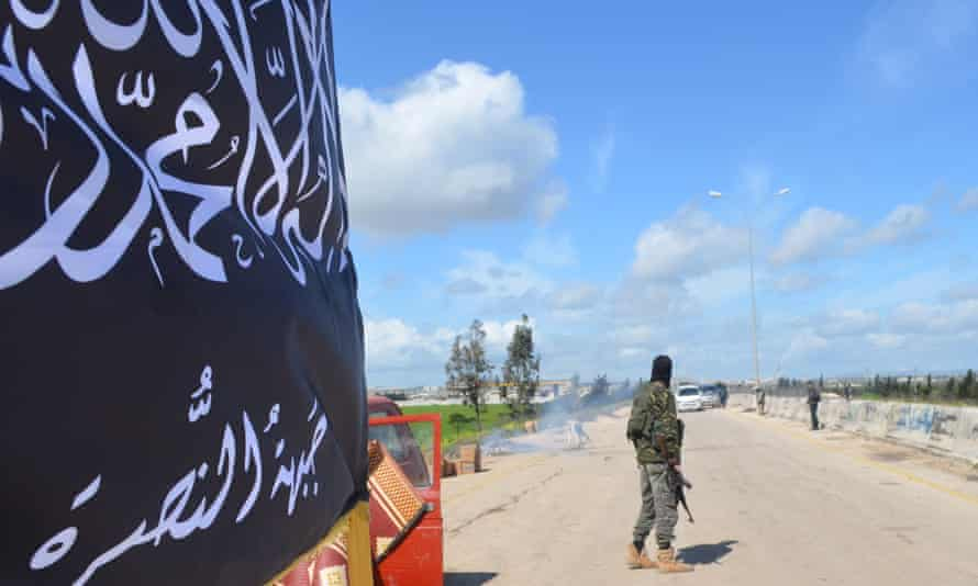 Checkpoint in Idlib Province.