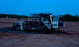Niger attack scene