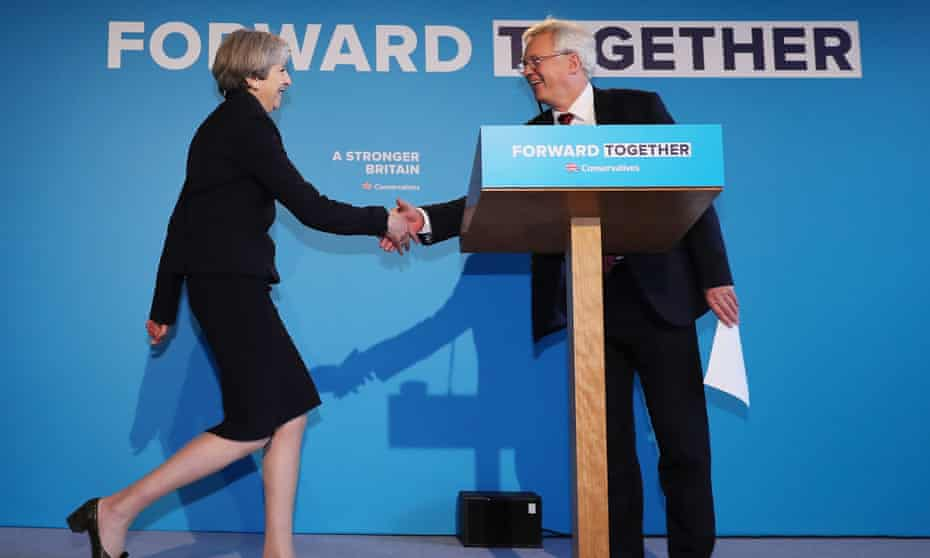 'Mrs May and her breezy lead negotiator, David Davis, offer platitudes about Britain embracing the globe and no deal being better than a bad deal.'