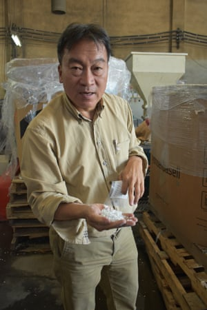 Steve Wong links your recycling with international purchasers.